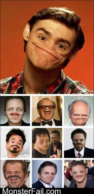 Celebs Without Nose