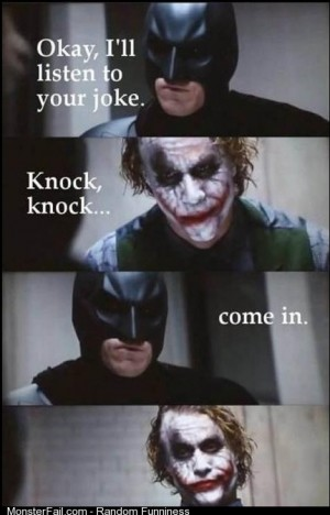 Batman does not fuck around