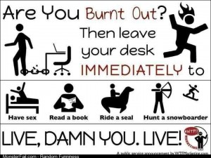 Are you burnt out