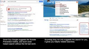 Scumbag BingGood Guy Google