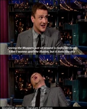 Jason Segel on The Muppets
