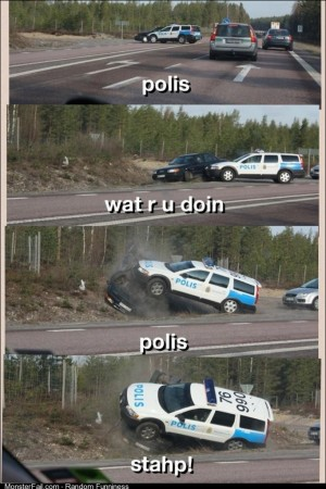 Polis stahp