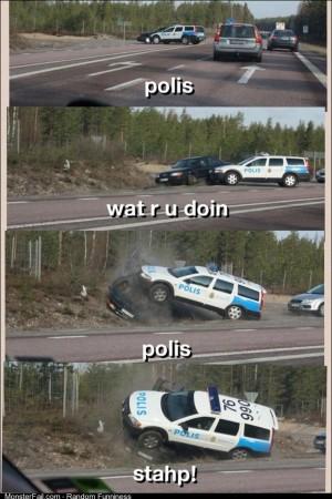 Polis stahp