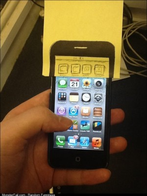 Friend got his hands on the iPhone 5