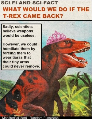 HA Fuck you TRex Fuck you