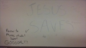Jesus Saves College Library