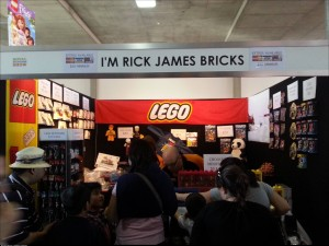 I laughed so hard when I saw the title on the Lego display stall at the Royal Melbourne Show