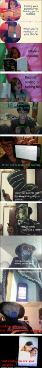 Tricking your parents