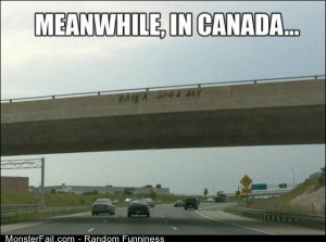 Funny Pics Meanwhile In Canada