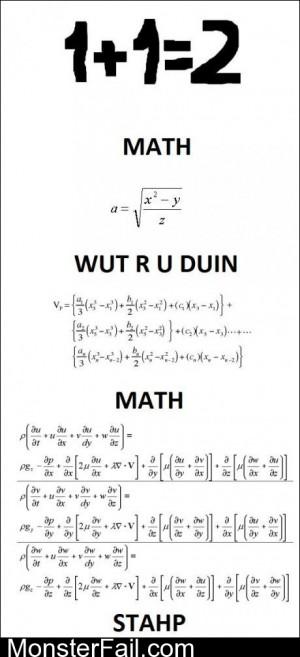 Math Stahp