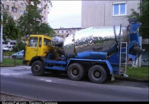 Disco Concrete Mixer