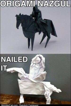 Origami Level Nailed it