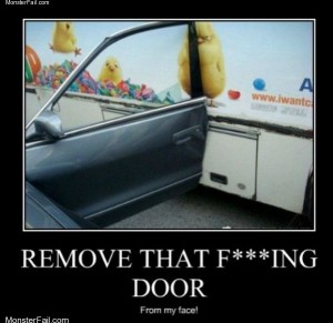 Remove that door