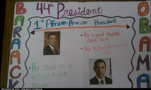 A high school class project on Barack Obama