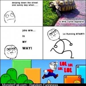 Mario style lol hahaha funny