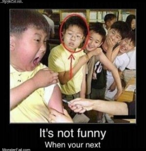 Its not always funny