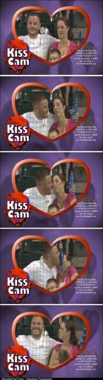 Funny Pics Kiss Cam