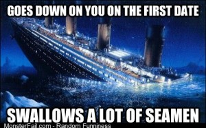 Bad Luck Titanic xpost from