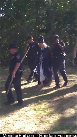 Wizard arrested for selling magic mushrooms at the fair