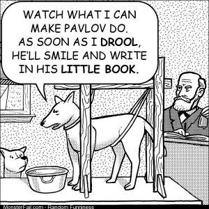 Dog on Pavlov