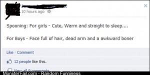 Spooning FB