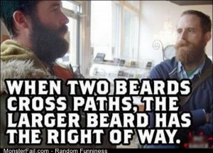 Funny Pics Two Beards