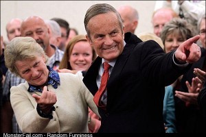 Todd Akin the guy has a wife that looks like Todd Akin in a dress