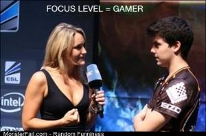 Funny Pics Gamer Ninja Focus