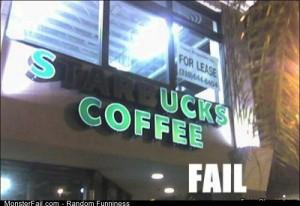 Fail sucks Coffee