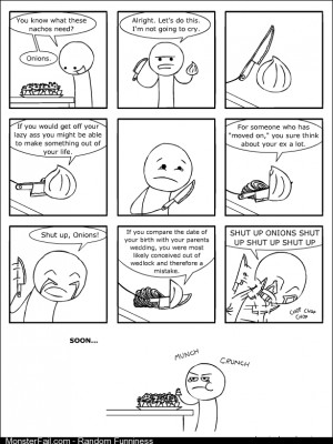 Asshole onion