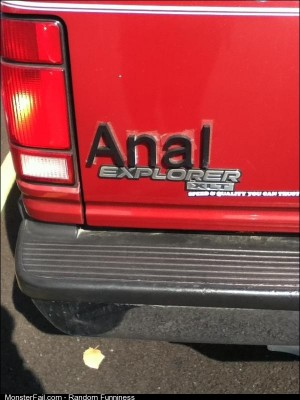 This was parked next to me today