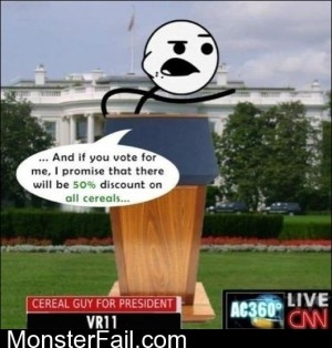 Cereal Guy For President