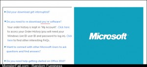 For sake Microsoft