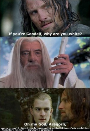 Oh my god Aragorn