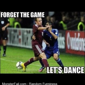 Soccer Dance Funny