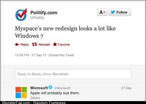Oh Microsoft