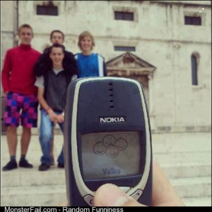 Taking picture with nokia 3310
