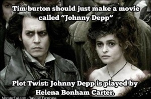 This is basically the direction Tim Burton is heading in anyway