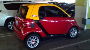 Perfect paint scheme for a Smart
