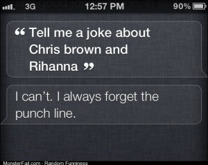 Low blow Siri