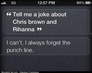 Low blow Siri