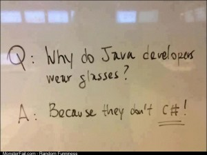 Computer nerd joke