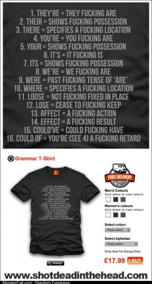 Grammar Nazi Uniform