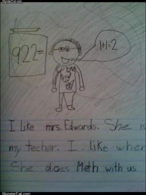 Mrs edwards meth class