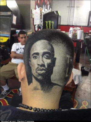 Let me get that tupac fade