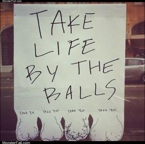 Take some life