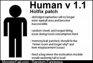 The Human Version 11 Common Errors Fixed