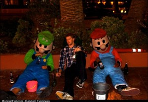 Got drunk in Vegas ended up in the Mushroom Kingdom