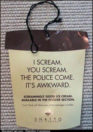 I scream you scream