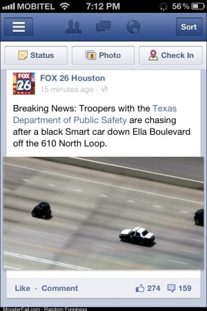 I take police chases seriously anymore